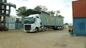 100 Truck Shipping Container Delivery Royal Wolf Australia