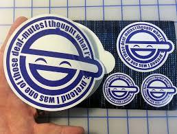 Laughing Man GITS Printed Sticker Kit