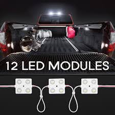 100 Led Interior Lights For Trucks LED Light Kit For Auto Vehicle 48 LEDs Wet Location