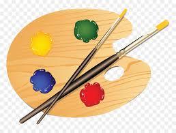 Palette Painting Clip Art