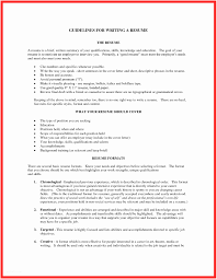 Experience Summary In Resume Examples Brief Writing Sample