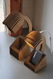 Laser Cut Lamp Plans by Diy 20 Creative Cardboard Lamp Ideas