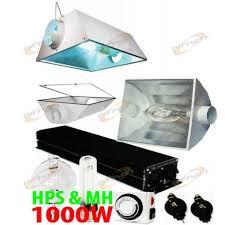 digital ballast hps mh bulb metal cool reflector grow
