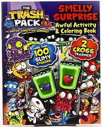 The Trash Pack Smelly Surprise Awful Activity Coloring Book Toys Parragon Books 9781445494340 Amazon