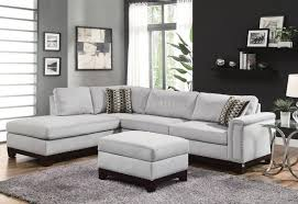 Ashley Furniture Light Blue Sofa by Ashley Furniture Sectional Couch Microfiber Sofa With Chaise