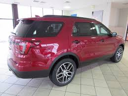 Ford Explorer Captains Chairs Second Row by 2017 New Ford Explorer Sport 4wd At Landers Serving Little Rock