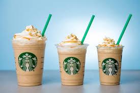 Caramel FrappuccinoR Light Blended Beverage 100 Calories Starbucks Newsroom