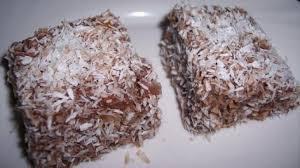 lokum pastasi türkische schokowürfel mit kokos