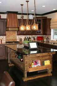 Lovely Rustic Decor Above Kitchen Cabinets