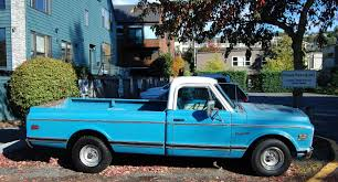 100 1967 To 1972 Chevy Trucks Seattles Old Cars Chevrolet C10 Pickup Truck