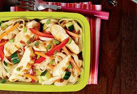 salade froide de pâtes au poulet coup de pouce