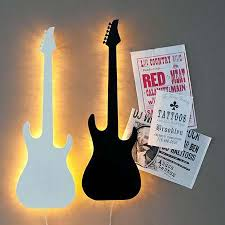 guitar wall lights guitar wall lights and guitar wall light