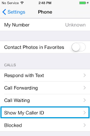 How to hide number from outgoing calls on an iPhone 6 TheCellGuide