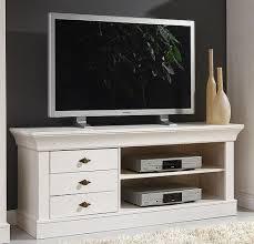tv lowboard 143x59x45cm bergen kiefer massiv weiß lasiert casade mobila