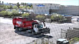 Garbage Truck In Las Vegas, Republic Services - YouTube