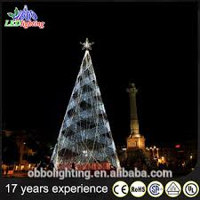 3D Metal Spiral Rope Light Christmas Cone Tree