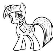 Alicorn Coloring Pages Valid My Little Pony Princess Twilight Sparkle