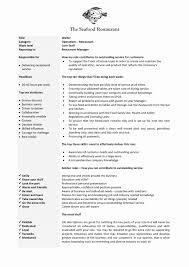 Hostess Job Description Resume Sample Fresh