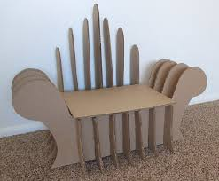 DIY Cardboard Chair Super cute for a toddler or children This