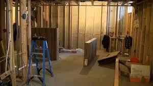 Basement Bathroom Ejector Pump Floor by Diy Basement Shower Installation Techniques Youtube