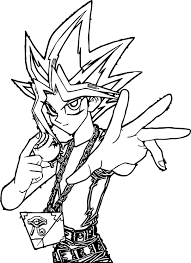 Yugioh Challenge Time Coloring Page