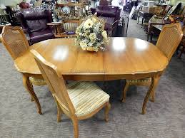 Thomasville Dining Room Chairs Discontinued by Double Pedestal Dining Table Thumbnail Image 4 Elegant House