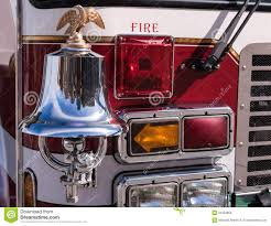 100 Fire Truck Bell Eagle Bull Dog And Lights Stock Image Image Of