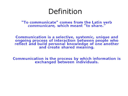 Definition Of The Word Decorous by Communication For Success Ppt Download