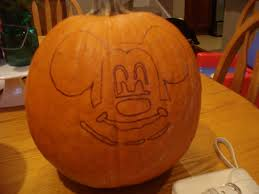 Minnie Mouse Painted Pumpkin by A Ginger Mess Let U0027s Carve A Pumpkin