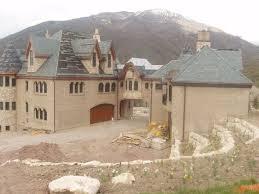 Alpine Mega Mansion Floor Plan by Utah Homes Of The Rich