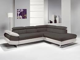 canapé d angle but gris et blanc canape polyurethane gris