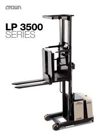Order Picker LP 3500 - CROWN - PDF Catalogue | Technical ... Various Of Crown Bt Raymond Reach Truck From 5000 Youtube Asho Designs Full Cabin For C5 Gas Forklift With Unrivalled Ergonomics And Ces 20459 20wrtt Walkie Coronado Equipment Sales Narrowaisle Rr 5200 Series User Manual 2006 Rd 5225 30 Counterbalanced Forklifts On Site Forklift Cerfication As Well Of Minnesota Inc What Its Like To Operate A Industrial All Star Refurbished Electric Double Deep Hire 35rrtt 24v Stacker 3500 Lbs 210