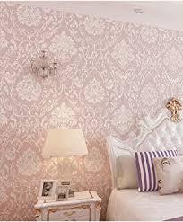 birwall elegante strukturierte tapete für wände tapete für wohnzimmer schlafzimmer küche 150 m rolle rosa