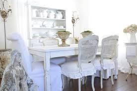 Shabby Chic Dining Room Hutch by Farmhouse Directors Chair Covers Dining Room Shabby Chic Style