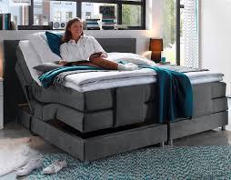 alabama boxspringbett mit motor 180x200cm elektrisch anthrazit günstig möbel küchen büromöbel kaufen froschkönig24