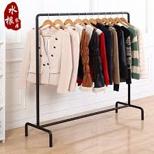 Continental Iron Creative Clothing Rack Store Display Hanger Racks Landing Hangers Pendant