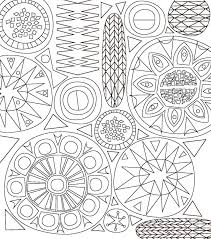 Coloring Book Mid Century Modern