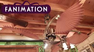 Ceiling Fan With Palm Leaf Blades by Fanimation Islander Ceiling Fan Chinese Palm Blades Youtube