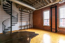 100 The Garage Loft Apartments River Place Loft With Spiral Staircase Rooftop Patio Asks 349K