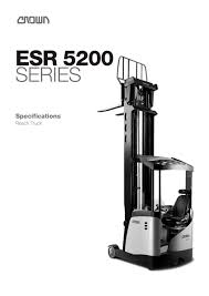 Reach Truck ESR 5200 Spec Sheet - CROWN - PDF Catalogue ... Reach Trucks R14 R20 G Tf1530 Electric Truck Charming China Manufacturer Heli Launches New G2series 2t Reach Truck News News Used Linde R 14 S Br 11512 Year 2012 Price Reach Truck 2030 Ton Pt Kharisma Esa Unggul Trucks Singapore Quality Material Handling Solutions Translift Hubtex Sq Cat Pantograph Double Deep Nd18 United Equipment With Exclusive Monolift Mast Rm Series Crown 1018 18 Tonne Rushlift