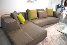 b b italia canapé canapé bend sofa de b b italia climent mobilier