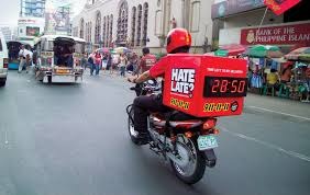 Pizza Hut Delivery Bikes Come Standard With A Countdown Clock