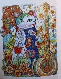 Cat Coloring Pages For Grownups