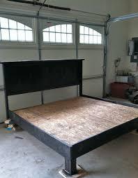 platform bed frame king as full bed frame for elegant make your