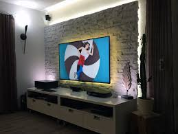 tv wand bauen und mit verblendern individuell arrangieren