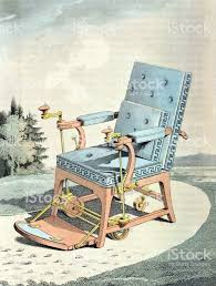 Vintage Chair Stock Illustration - Download Image Now - IStock