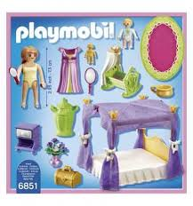 playmobil königliche schlafzimmer mit wiege