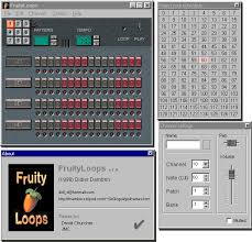Fruityloops 10 Graphical User Interface You Can Download It Here FL Studio