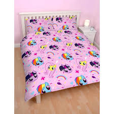 my little pony equestria double duvet cover set polyester