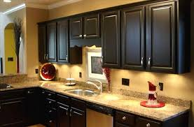 Kitchen Backsplash Ideas With Dark Oak Cabinets by Trash Cans Cabinet Pictures U From Hgtv Cabinet Kitchen Paint